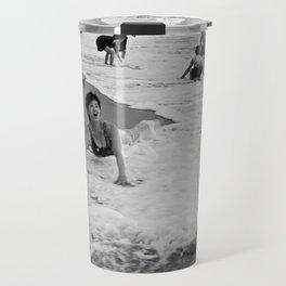 Bathing Woman in Vietnam - analog Travel Mug