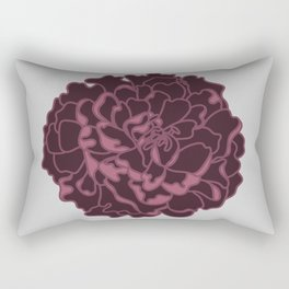 Blush Peony Rectangular Pillow