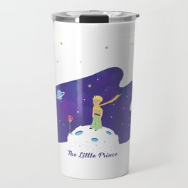 The Little Prince in Space Travel Mug