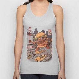 Burgerzilla Unisex Tank Top