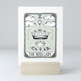 The Boss Lady Mini Art Print
