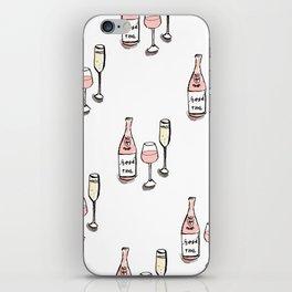 PATTERN II Rosé & Sparkling Wine iPhone Skin