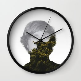 Unhinged Wall Clock
