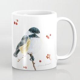 Christmas Chickadee by Teresa Thompson Coffee Mug