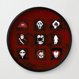 Horror Legends Wall Clock