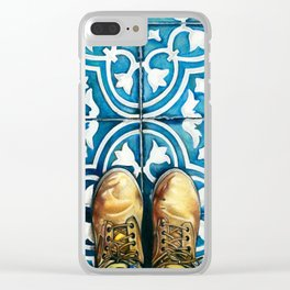 Art Beneath Our Feet - Mexico City Clear iPhone Case