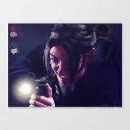 Shaw Canvas Print