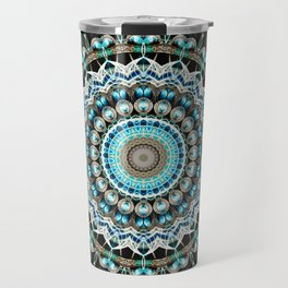 Mandala antique jewelry Travel Mug