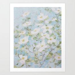 Virginia Blooms Art Print