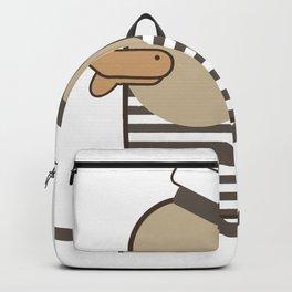 Vintage Sailor Duck. Backpack