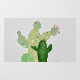 Cactus in a Pot Rug