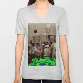the Tempo of Bottoms up Unisex V-Neck