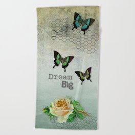 Dream Big Beach Towel
