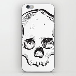 Clumsy Skull iPhone Skin