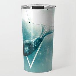 The Whale - Blu Travel Mug