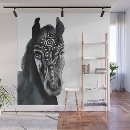 Shadow Wild Heart Horse Wall Mural