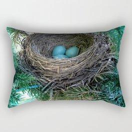 Robins Nest Rectangular Pillow