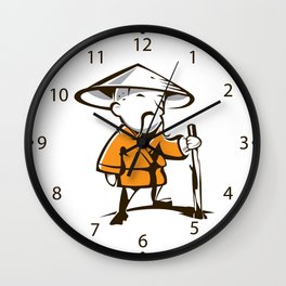 Old monk Wall Clock