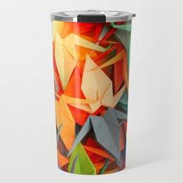 Senbazuru rainbow Travel Mug