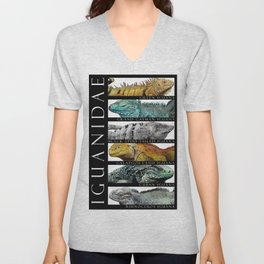 Iguanas of the World Unisex V-Neck