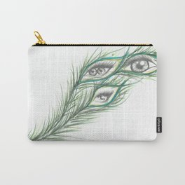 Peacock Eyes  Carry-All Pouch