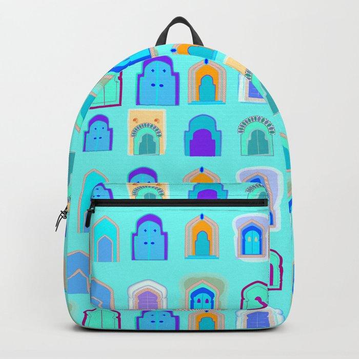 Moroccan Doors Backpack