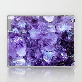 Amethyst Crystals Laptop & iPad Skin