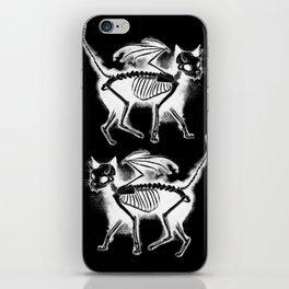 Devil Kitty - inverted iPhone Skin