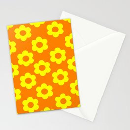 Yellow/Orange Flowers Stationery Cards