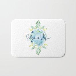 Breathe - Watercolor Bath Mat
