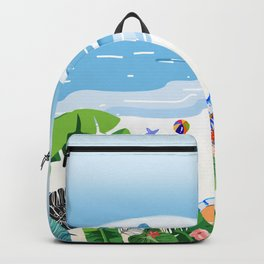Beach Holiday - Part 3 Backpack