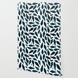 Deep Sea Teal Wallpaper