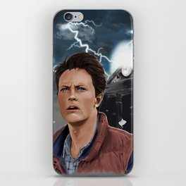 This is heavy, Doc iPhone Skin