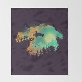 Leap of Faith Throw Blanket