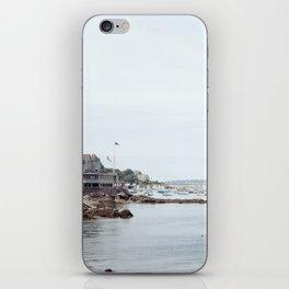 Massachusetts Fishing Village iPhone Skin