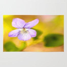 Wildflower Pansy Summer Blossom #decor #society6 #buyart Rug