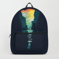 I Want My Blue Sky Backpacks