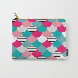 Scale Pattern Carry-All Pouch