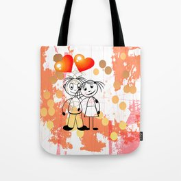 Beste Freunde - best friends Tote Bag
