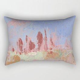 Standing Stone Circle in Pastels Rectangular Pillow