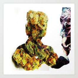 Weed is Life. Art Print