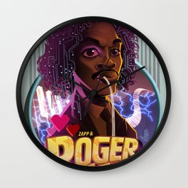 Roger troutman Wall Clock