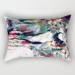 Interpretation of a dream - Parrot II Rectangular Pillow