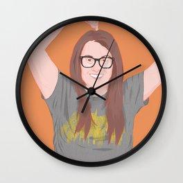 adrianna dilonardo Wall Clock