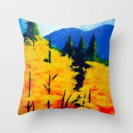 One Autumn Morning Throw Pillow