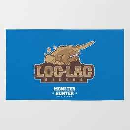 Monster Hunter All Stars - Loc-Lac Riders Rug