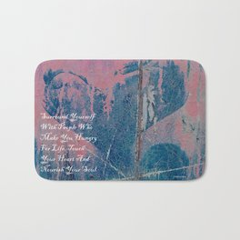 Hungry For Life Bath Mat