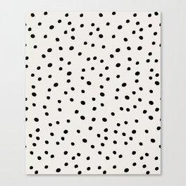 Preppy Spots Canvas Print