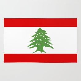 lebanon country flag tree Rug