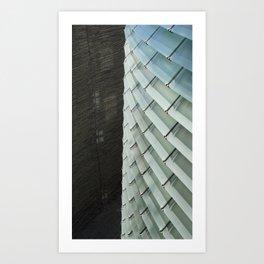 Architectural Textures Art Print